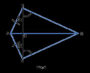 Четвертый признак равенства треугольников