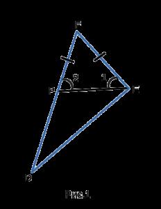 Теорема о соотношениях между углами и сторонами треугольника